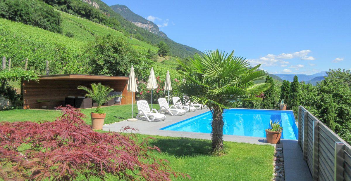 Pool und Garten am Runggnerhof