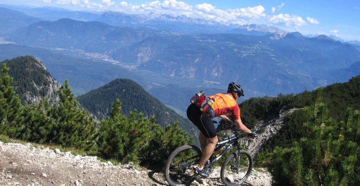Radfahren am Hausberg